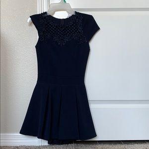 Navy romper dress